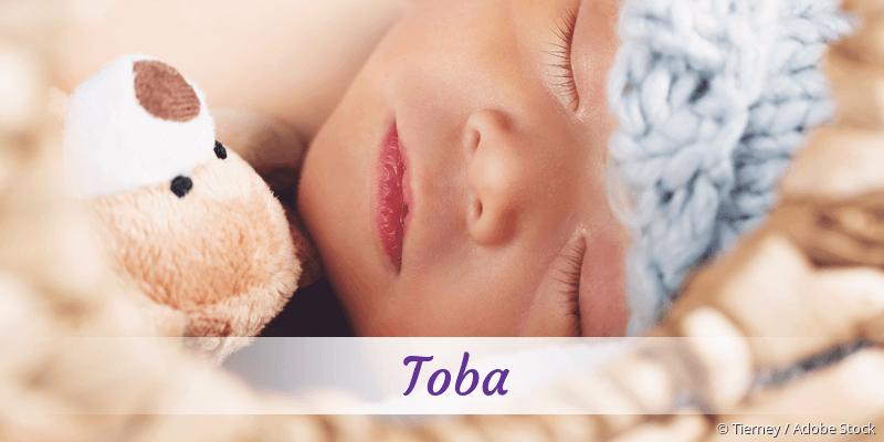 Name Toba als Bild