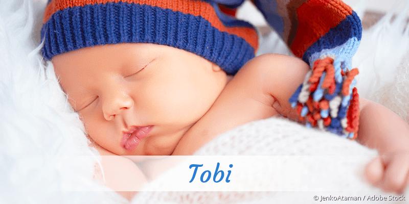 Name Tobi als Bild