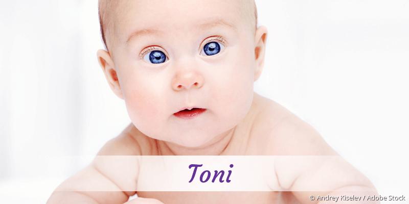 Name Toni als Bild