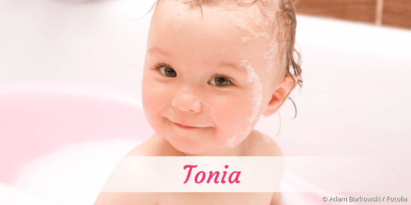 Name Tonia als Bild