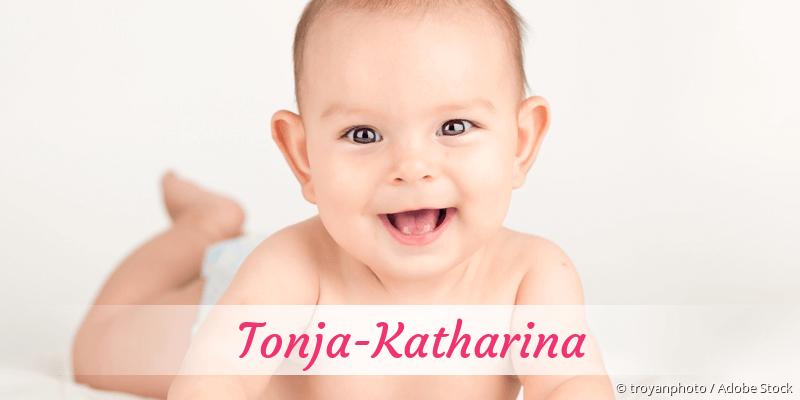 Name Tonja-Katharina als Bild