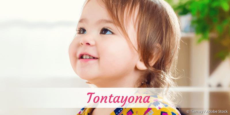Name Tontayona als Bild