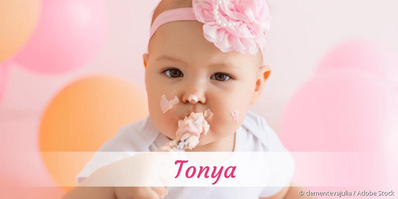 Name Tonya als Bild