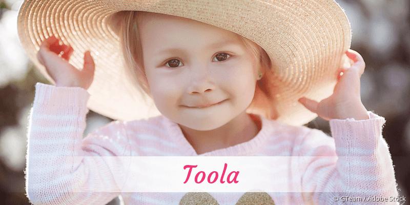Name Toola als Bild