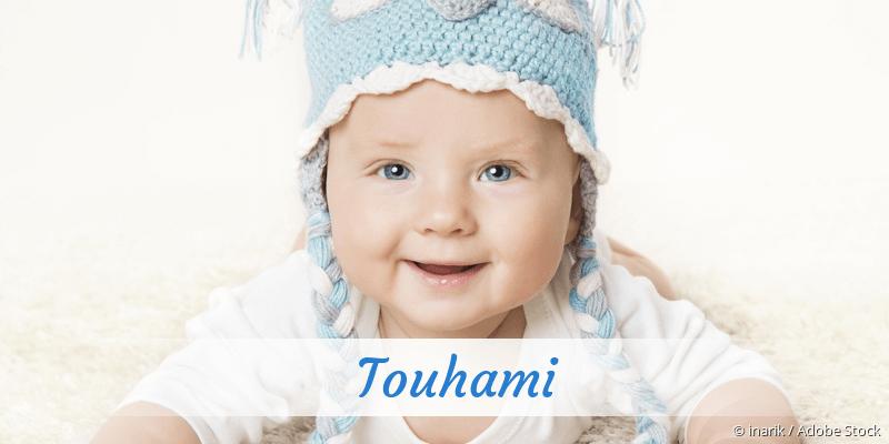 Name Touhami als Bild