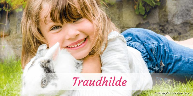 Name Traudhilde als Bild
