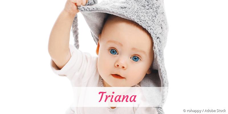 Name Triana als Bild