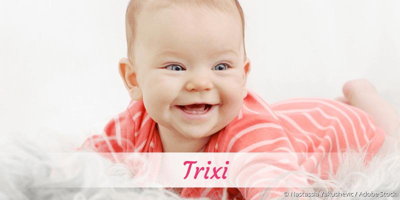 Name Trixi als Bild
