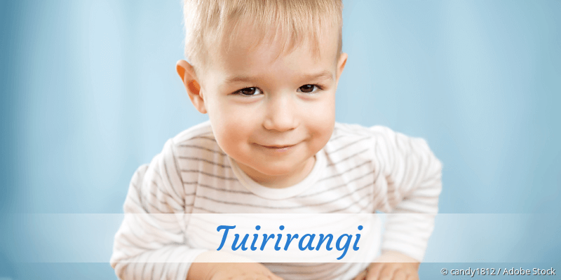 Name Tuirirangi als Bild