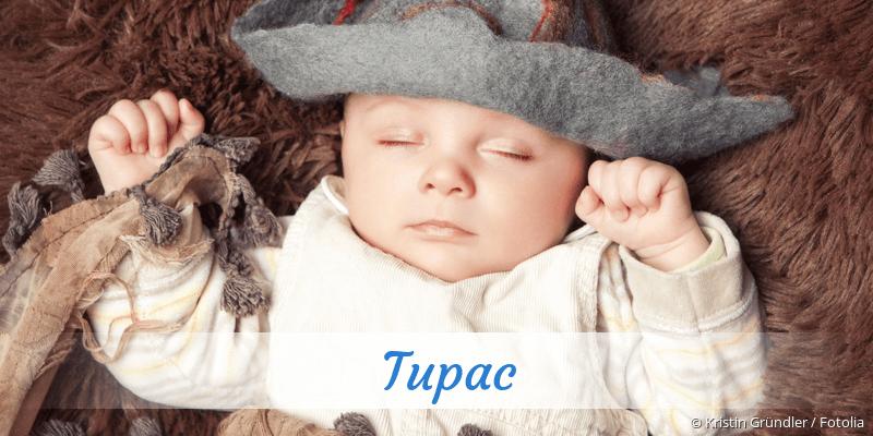 Name Tupac als Bild