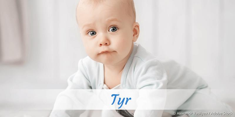 Name Tyr als Bild