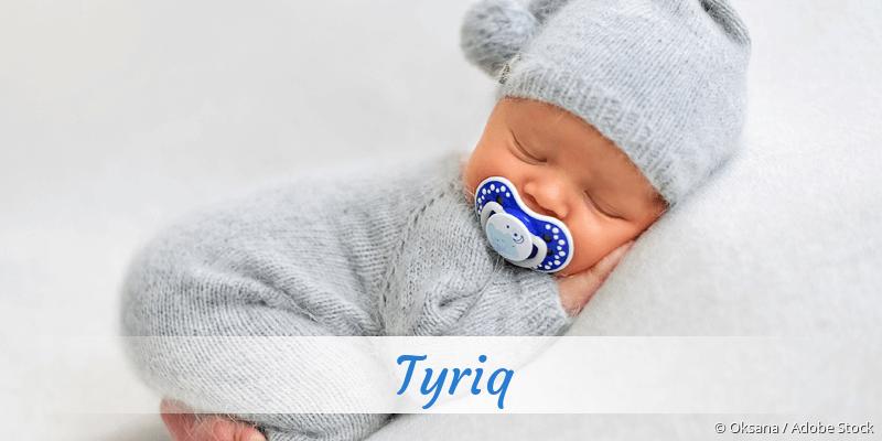 Name Tyriq als Bild