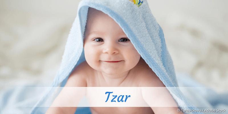 Name Tzar als Bild