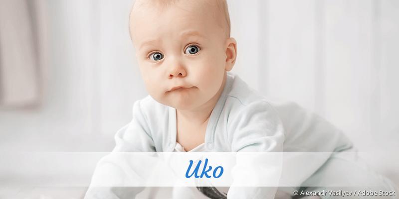 Name Uko als Bild