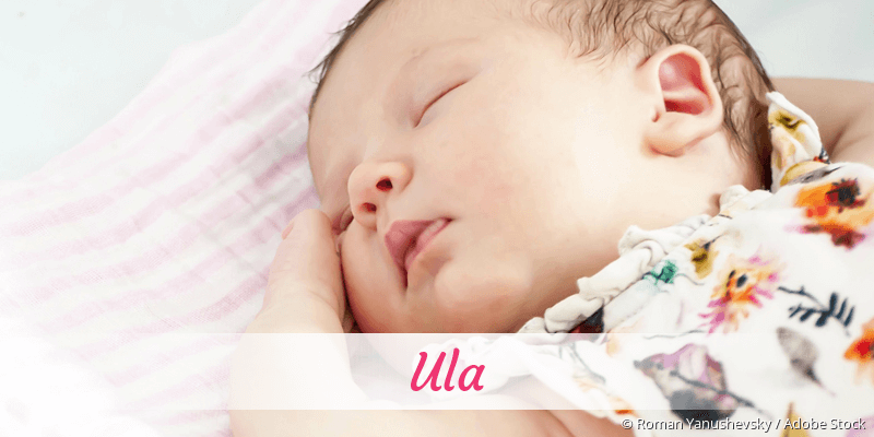 Name Ula als Bild
