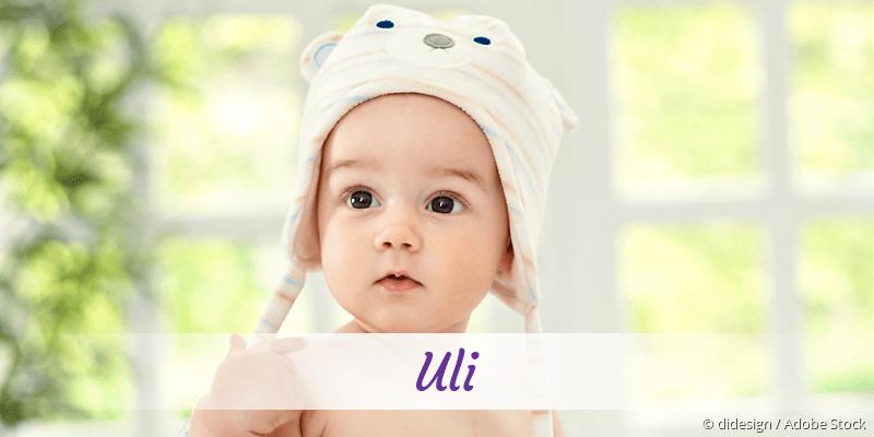 Name Uli als Bild