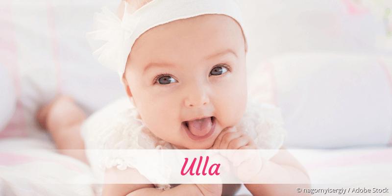 Name Ulla als Bild