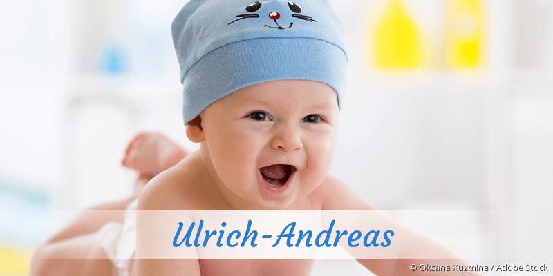 Name Ulrich-Andreas als Bild