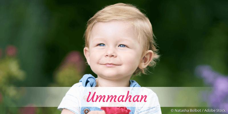 Name Ummahan als Bild