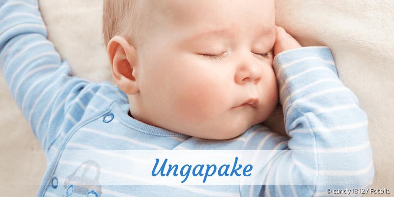 Name Ungapake als Bild