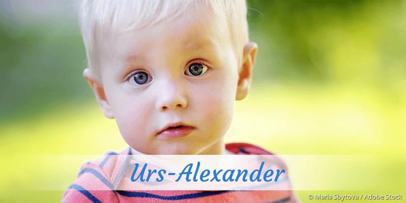 Name Urs-Alexander als Bild