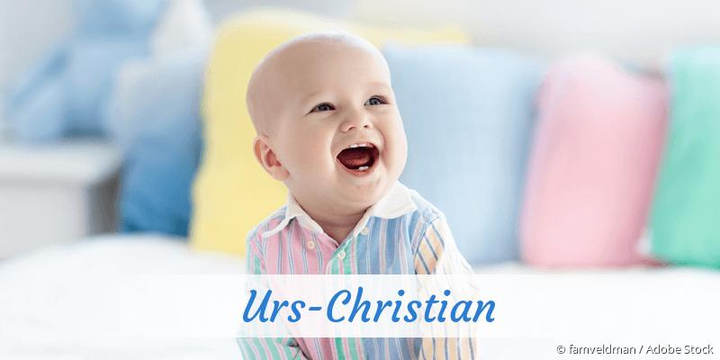 Name Urs-Christian als Bild