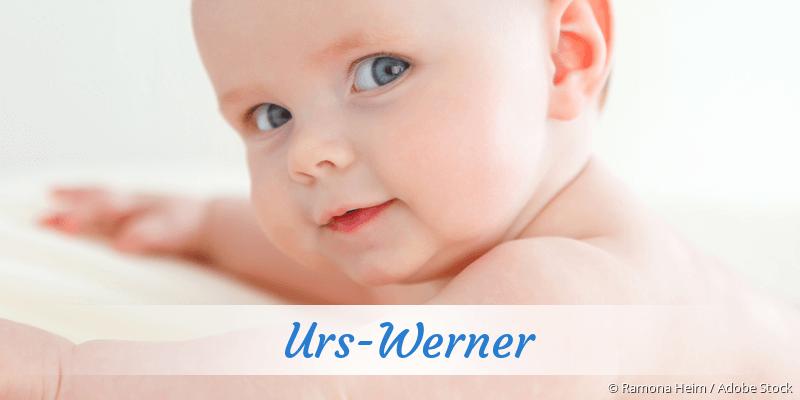 Name Urs-Werner als Bild
