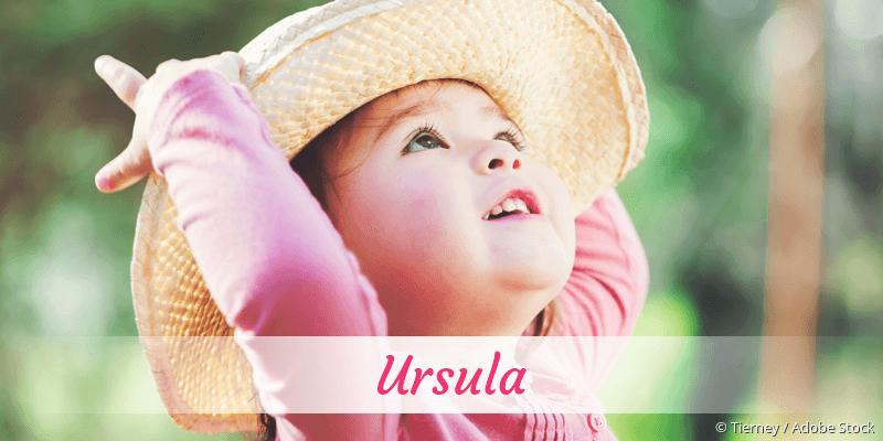 Name Ursula als Bild