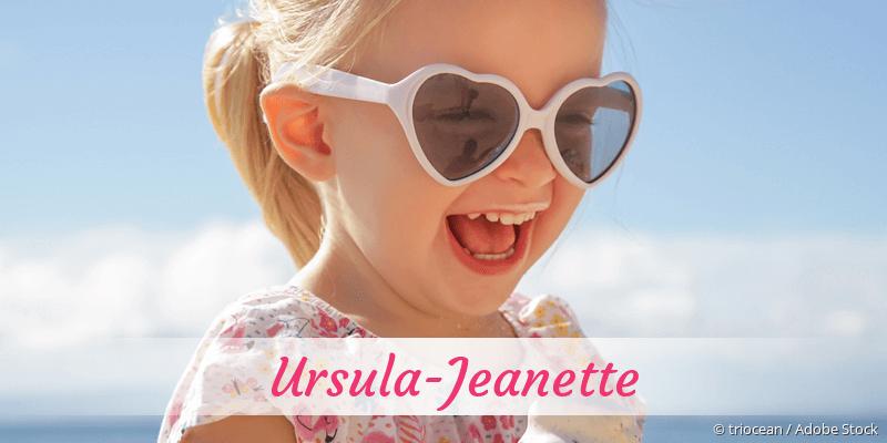 Name Ursula-Jeanette als Bild