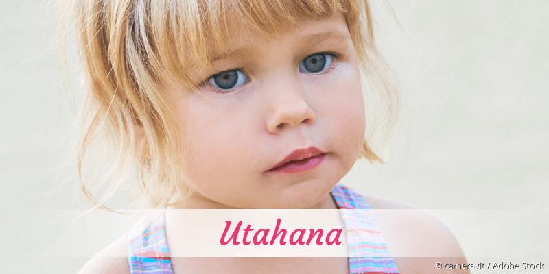 Name Utahana als Bild
