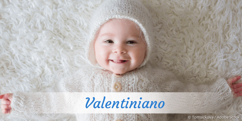 Name Valentiniano als Bild