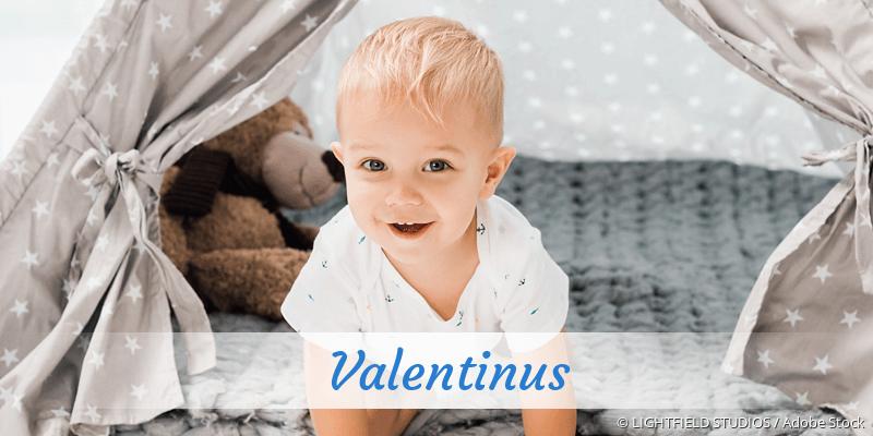 Name Valentinus als Bild