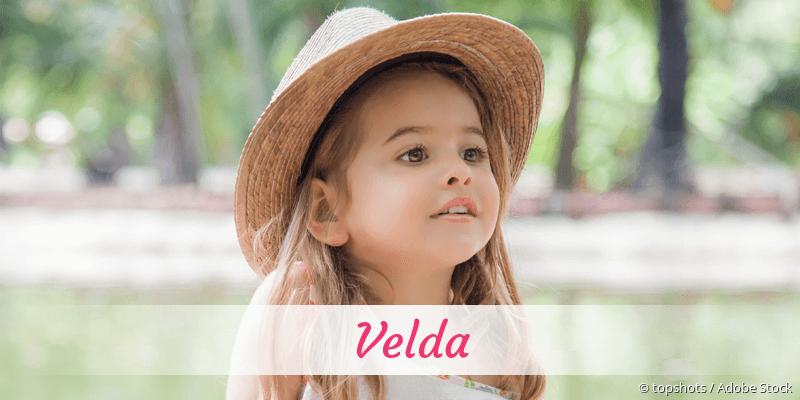Name Velda als Bild