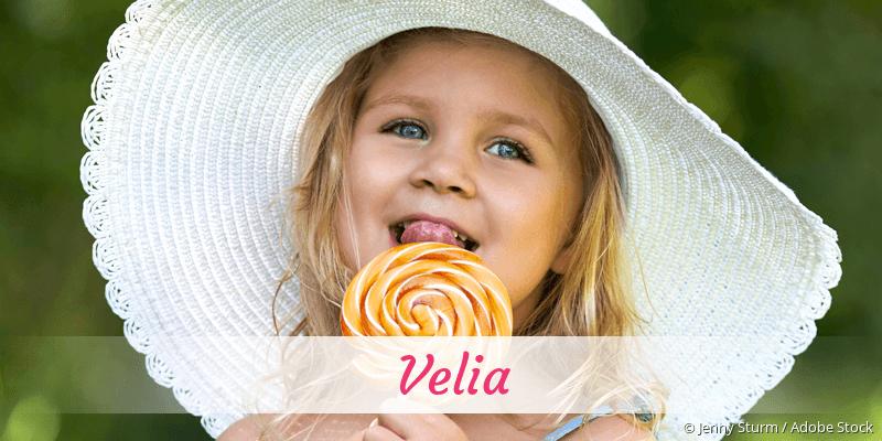 Name Velia als Bild