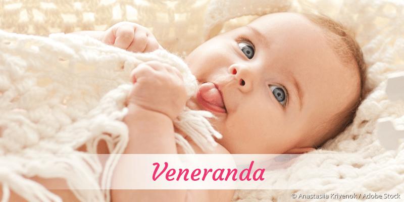 Name Veneranda als Bild