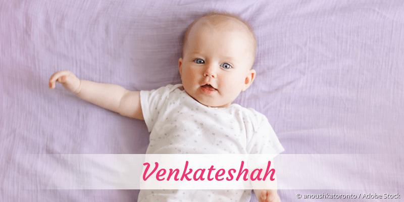 Name Venkateshah als Bild