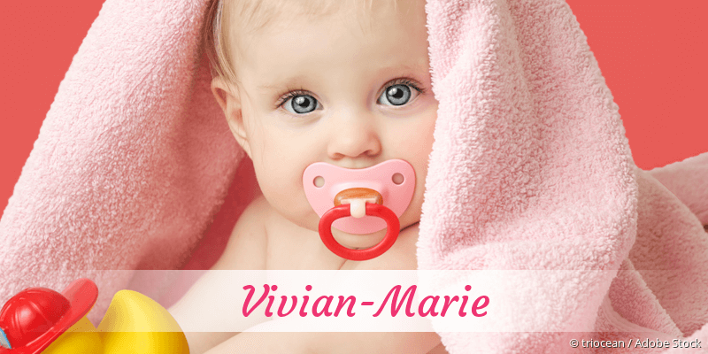 Name Vivian-Marie als Bild