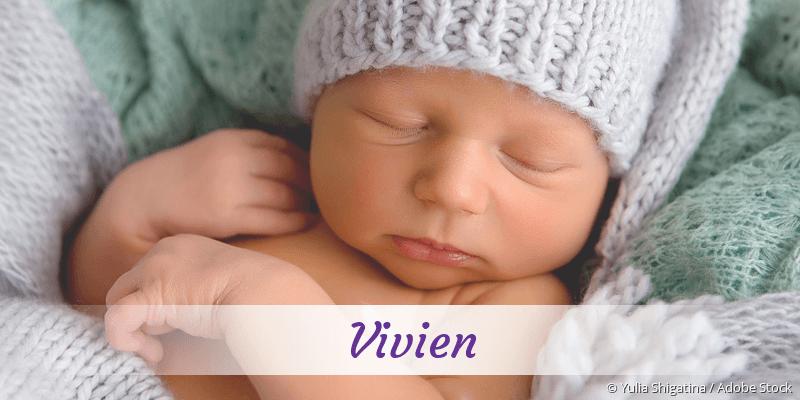 Name Vivien als Bild