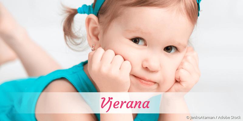 Name Vjerana als Bild