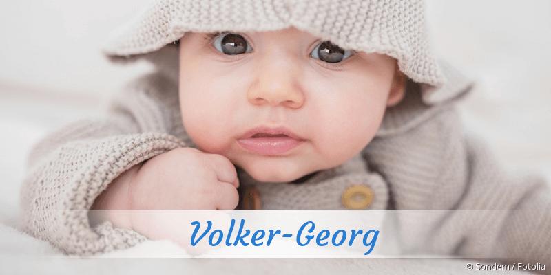 Name Volker-Georg als Bild