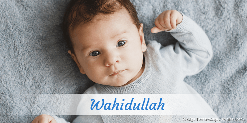 Name Wahidullah als Bild