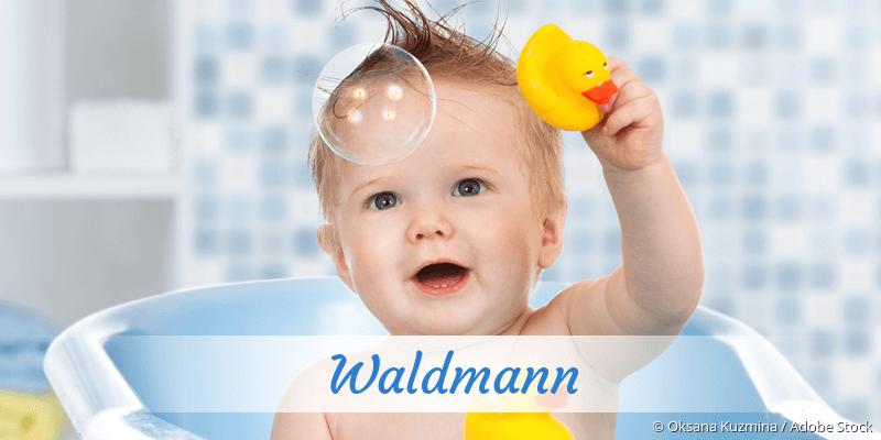 Name Waldmann als Bild