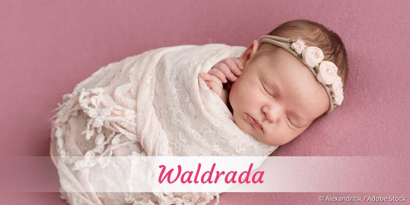 Name Waldrada als Bild
