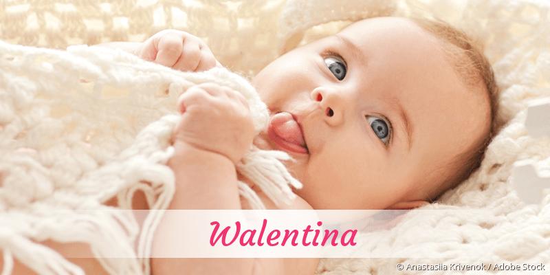 Name Walentina als Bild