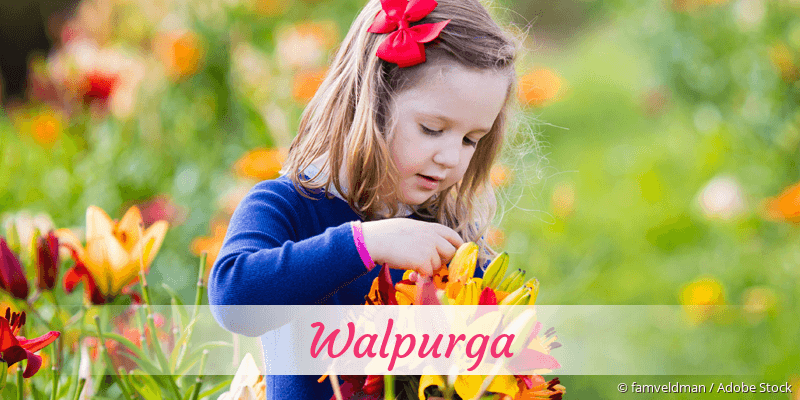 Name Walpurga als Bild