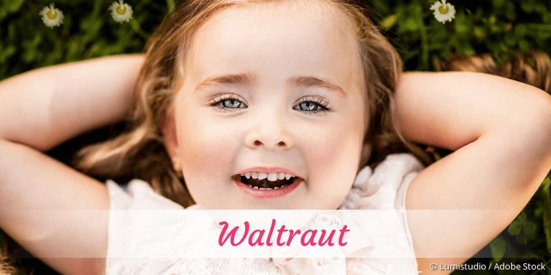 Name Waltraut als Bild