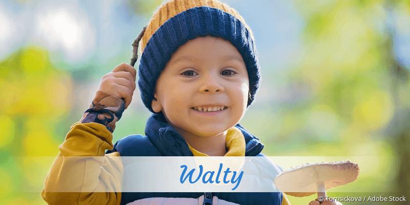 Name Walty als Bild