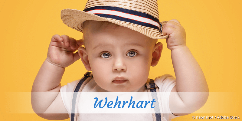 Name Wehrhart als Bild