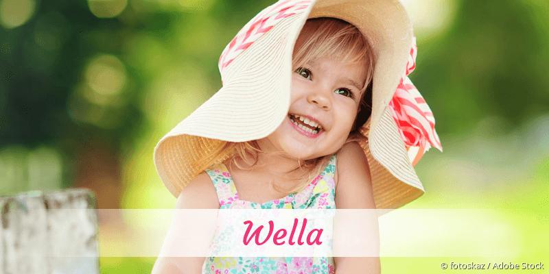 Name Wella als Bild