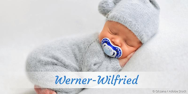 Name Werner-Wilfried als Bild